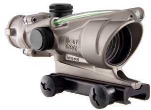 Trijicon ACOG 4X32 Nickel Boron Dual Illuminated Green Crosshair Md: Ta31-C-100199