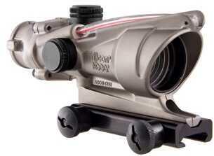 Trijicon ACOG 4X32 Nickel Boron Dual Illuminated Red Chevron Md: Ta31-D-100194