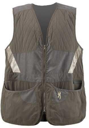 Browning Mens Summit Vest, Green/Dark Grey X-Large Md: 3050318404