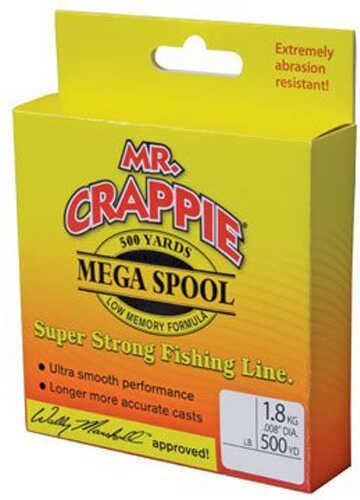 Lew's Mr Crappie Premium Line Camo 8Lb 500Yrd Fishing Line