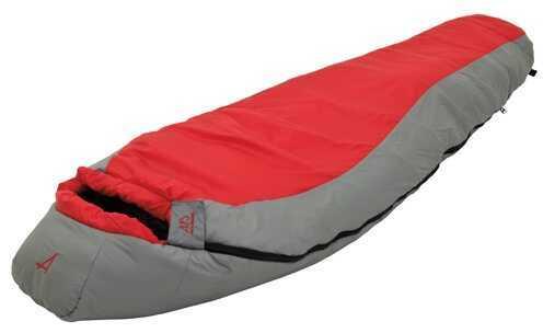 Alps MountaineeringAlps Mountaineering Diamond Back Regular Scarlet/Grey 0° Md: 4451424 Mummy Sleeping Bag