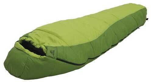 Alps MountaineeringAlps Mountaineering Crescent Lake +20° Kiwi/Green Short Md: 4510322 Mummy Sleeping Bag