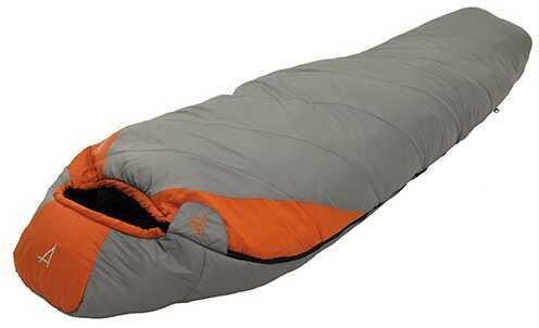 Alps MountaineeringAlps Mountaineering Desert Pine Grey/Rust 0° Regular Md: 4651023 Mummy Sleeping Bag
