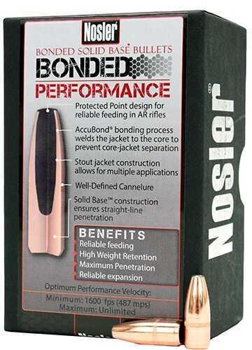 Nosler Bonded Solid Base 6.8 90 Gr ProtPt (Per 100) Md: 38140