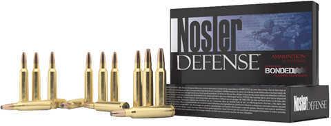 Nosler 68mm SPC 90 Grain Bonded Solid Base (Per 20) Md: 39680