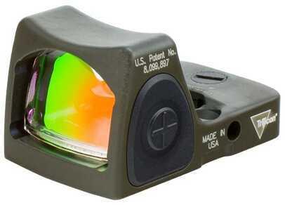 Trijicon RmR Sight Led, 6.5 MOA Red Dot, Cerakote, OD Green Md: Rm07-C-700236