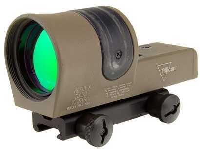 Trijicon 1X42mm Reflex 6.5 MOA Dot Reticle Cerakote, Flat Dark Earth Md: Rx30-C-800091