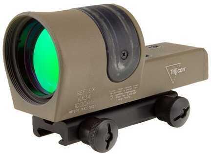 Trijicon 1X42mm Reflex Amber 4.5 MOA Dot Reticle, Cerakote Flat Dark Earth Md: Rx34-C-800109