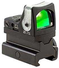 Trijicon RmR Sight Dual Illuminated 12.9 MOA, Green Triangle, Rm34 Md: Rm08-C-700088