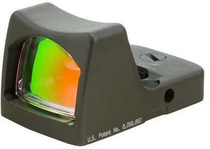 Trijicon RmR Sight Led, 6.5 MOA Red Dot, Cerakote, OD Green Md: Rm02-C-700122