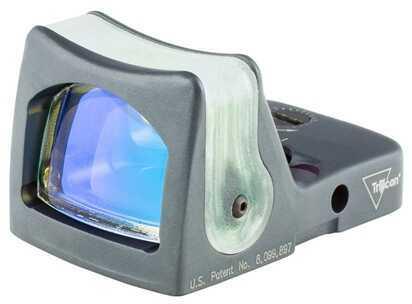 Trijicon RmR Sight Dual Illuminated 12.9 MOA, Green Triangle, Cerakote, Sniper Gray Md: Rm08-C-700280