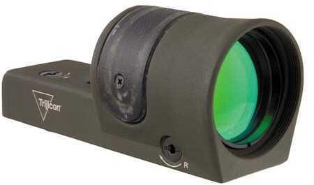 Trijicon 1X42mm Reflex 6.5 MOA Dot Reticle OD Green Md: Rx30-C-800066