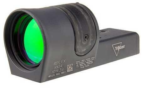 Trijicon 1X42mm Reflex Amber 4.5 MOA Dot Reticle, Cerakote Sniper Gray Md: Rx34-C-800092