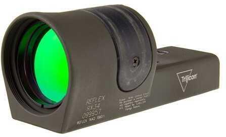 Trijicon 1X42mm Reflex Amber 4.5 MOA Dot Reticle, Cerakote OD Green Md: Rx34-C-800093