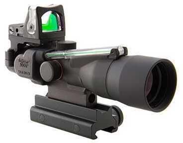 Trijicon ACOG 3X30mm Dual Illuminated Green Chevron .223 Ballistic Md: Ta33G-8-Rm05G