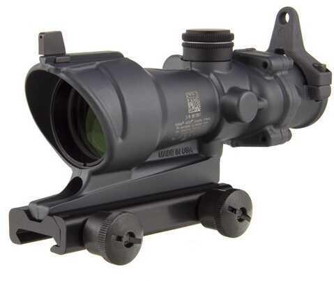 Trijicon ACOG 4X32 Tritium, BUIS & Ta51 Mount, Cerakote, Sniper Grey Md: Ta01-D-100317