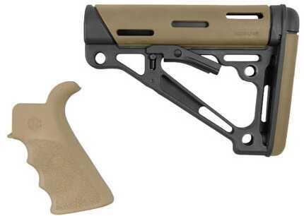 Hogue AR15 OMCB BFG Grip - Com/Mil-Spec Desert Tan Md: 15355