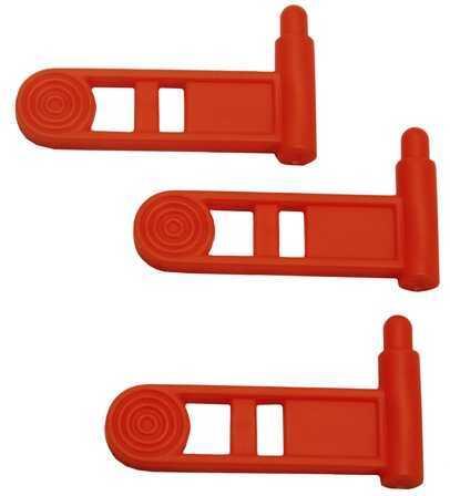Pistol Safety Chamber Flag, 3 Pack Orange Md: 4986-3Pk-Or