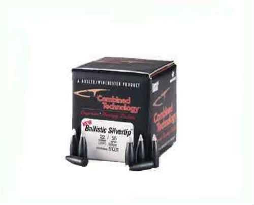 Nosler 22 Caliber .224 55 Gr Spitzer Ballistic ST Varmint Per 100 Md