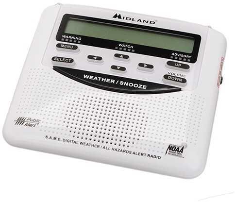 Midland RadiosWX Civil Trilingual Monitor With Same Md: WR120B