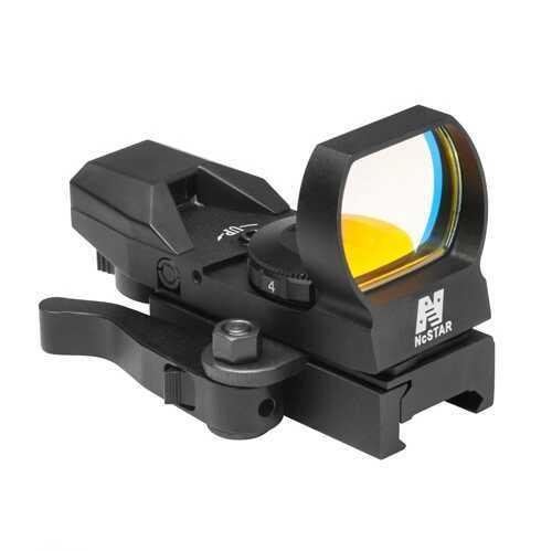 Green Reflex Sight/4 Reticles/Qr Mount/Black Md: D4BGQ