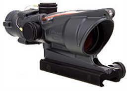 Trijicon ACOG 4X32 Dual Illuminated, Crosshair W/Flattop Mount, Cerakote, Sniper Gray Md: Ta31-C-100370