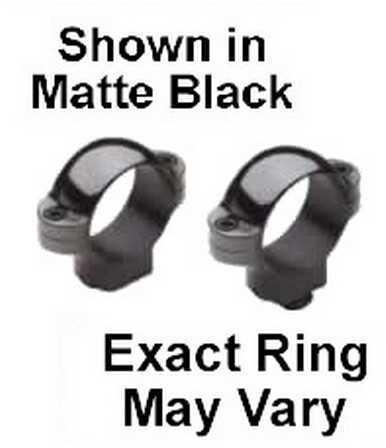 """Burris Standard 1"""" Rings Low Nickel Md: 420013"""