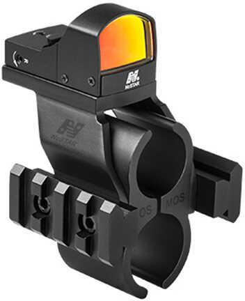 NcStar Mossberg 500/590 Barrel Micro Dot Rail/Mount & DGAB Combo Red Dot Md: MSHBDMOSR-A