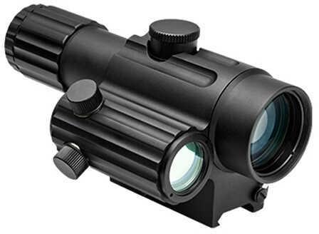 NCStar VDuo434DGB Duo 4X34mm 26ft@100yds Illum Urban Tactical/Green Dot Black