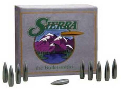 Sierra 22 Caliber .224 High Velocity 52 Grains HPBT Match Moly Per 100 Md: 1410M Bullets