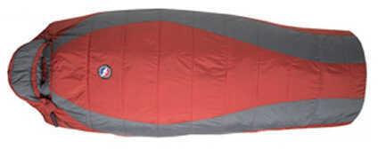 Big Agnes Encampment 15 Integrity, Red/Gray Long, Right Hand Zipper Md: BELR14RG
