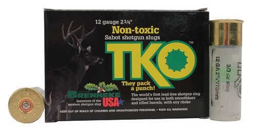 "Brenneke Tko Non-Toxic Tin Sabot 12 Ga, 2.75"" 2/3 Oz (Per 5) Md: SL-122Tko-1210922"