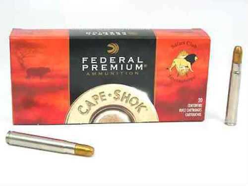 Federal 416 Remington Magnum 400 Grain Trophy Bonded Sledgehammer Ammunition Md: P416Rt2
