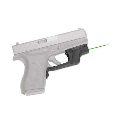 Crimson Trace Lg-443G Green Laserguard For Glock 42 & 43