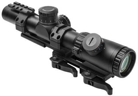Vism Evolution Series Scope 1.1-4X24 Scope/Single Dot Md: VEVOFD11424G/SPR