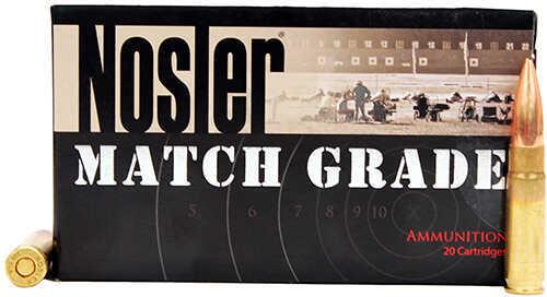 Nosler 300 Blackout 220 Grain Custom Competition (Per 20) Md: 51275