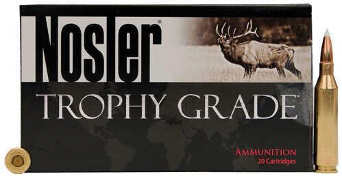 Nosler Trophy Grade Ammunition 338 Winchester Magnum, 225 Grains, Accubond, Per 20 Md: 60074