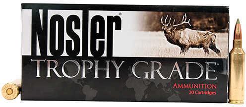 Nosler Trophy Grade 270 Winchester Short Magnum (WSM) 130 Grain E-Tip Ammunition, 20 Rounds Per Box