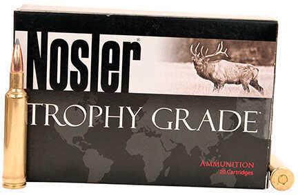 Nosler Trophy Grade 270 Weatherby Magnum 150 Grain Accubond Long Range Ammunition, 20 Rounds Per Box