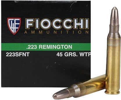 223 Remington 45 Grain Frangible (Per 50) Md: 223SFNT