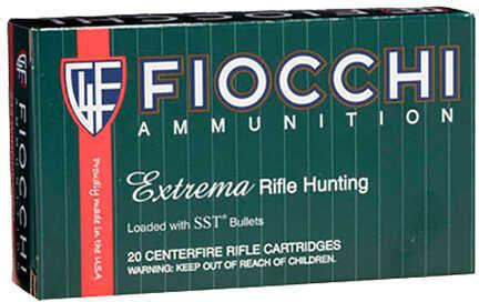 Fiocchi 243 Winchester 95 Grain SST Polymer Tip BT Ammunition, 20 Rounds Per Box