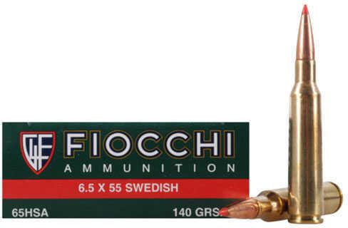 Fiocchi Ammo 6.5 Swedish 140 Grain SST (Per 20) Md: 6.5HSA