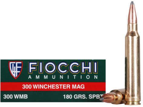300 Winchester Magnum 180 Grain Interlock BTSP (Per 20) Md: 300WMB