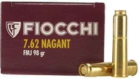 7.62 Nagant 97 Grain FMJ (Per 50) Md: 7.62A