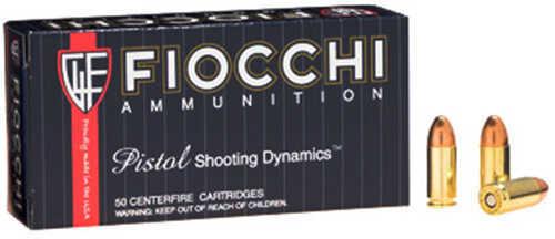 Fiocchi Ammo 9mm 124 Grain CMJ (Per 50) Md: 9APBCMJ
