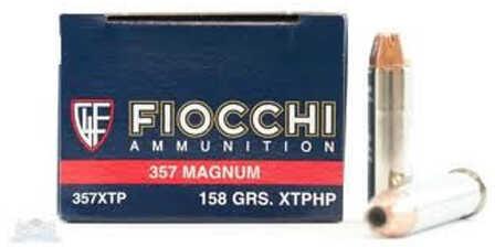 Fiocchi 357 Magnum 158 Grain XTP HP Ammo (Per 25) Md: 357XTP25