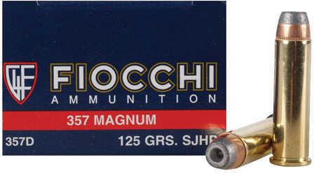 357 Magnum 125 Grain JHP (Per 50) Md: 357D