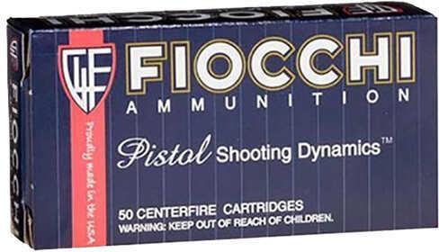 Fiocchi Ammo 40 S&W 180 Grain CMJTC (Per 50) Md: 40SWDCMJ