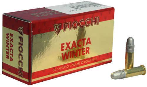 Fiocchi Ammo 22 (Long Rifle) 40 Grain Exacta Winter Super Match (Per 50) Md: 22Sm340