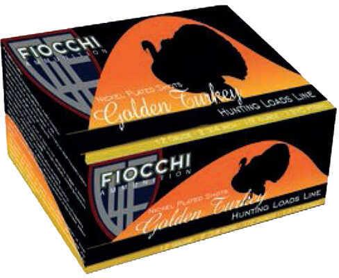 "Fiocchi Ammo Golden Turkey 12 Gauge (Per 25) 3"" Size 6 1 3/4 Oz Md: 123TRKC6"